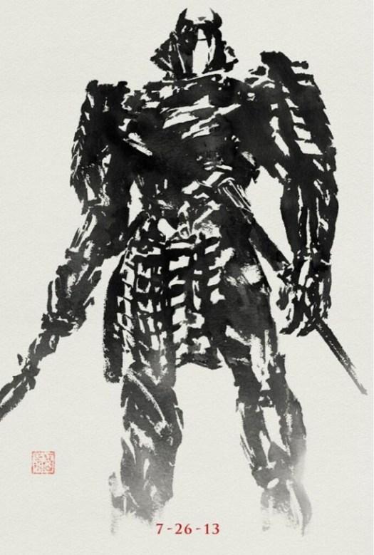 The Wolvering Silver Samurai