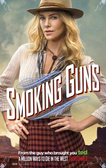 A Million Ways To Die In The West -  Charlize Theron