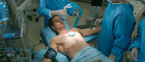 Tony Stark Has His Arc Reactor Removed