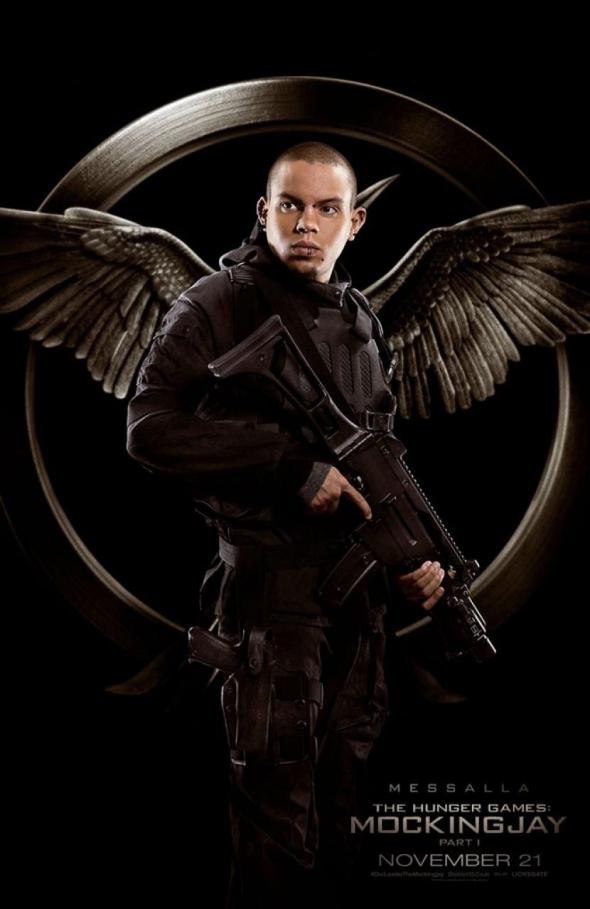 The Hunger Games Mockingjay Part 1 / Evan Ross / Messalla