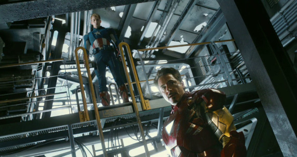 Iron Man + Captain America