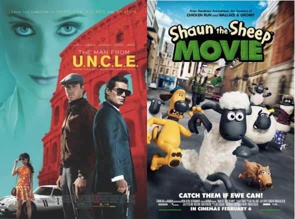 Shaun the Sheep / The Man From U.N.C.L.E.