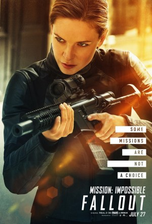 Mission: Impossible - Fallout; Rebecca Ferguson