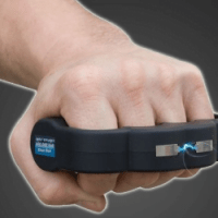 Brass Knuckle With Taser