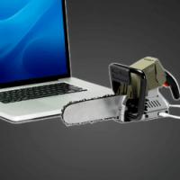 USB-Powered Chainsaw