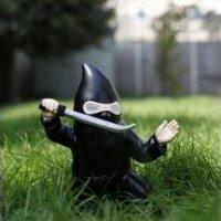 Ninja Garden Gnome