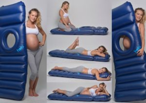 This Inflatable Maternity Pillow Raft Bed Will Totally Change How You Rest While Pregnant Awesomejelly
