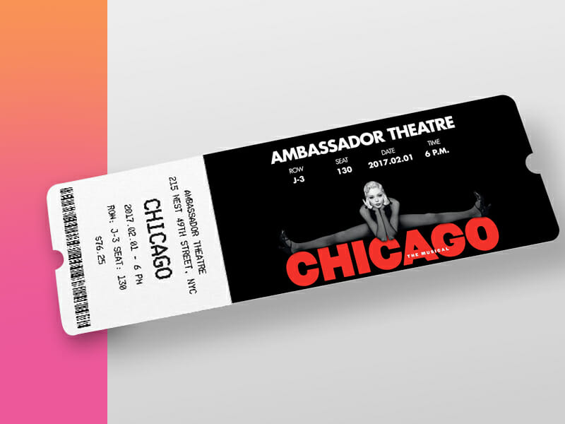 New Event Ticket Mockup - Awesome Mockups