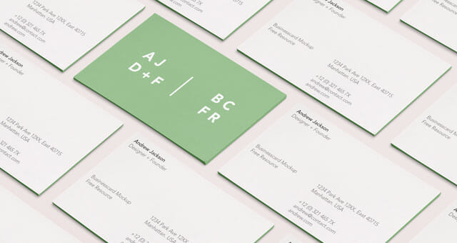 Branding business card mockup awesome mockups undefined colourmoves Choice Image