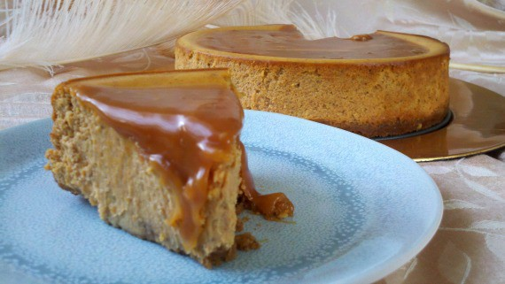 Caramel Pumpkin Cheesecake from Awesome on 20