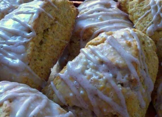 Pumpkin Scones from Awesome on 20