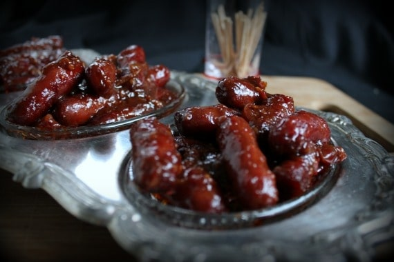 Cranberry Soy Sausages from Awesome on 20