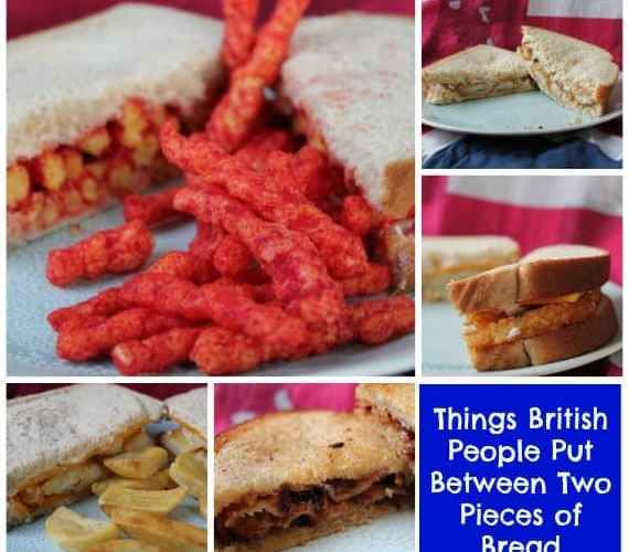 Things British People Put Between Two Pieces of Bread
