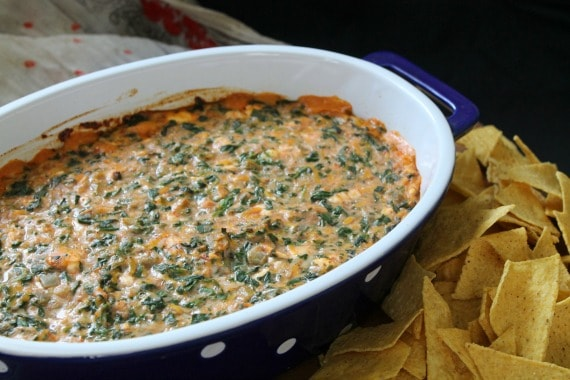 Mexican Spinach Dip from Awesome on 20
