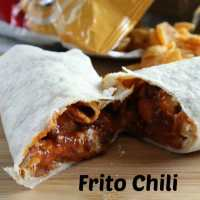 Frito Chili Cheese Wrap