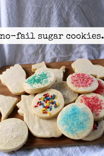 No-Fail Sugar Cookies   How to be Awesome on $20 a Day