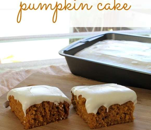 Pumpkin Cake   How to be Awesome on $20 a Day