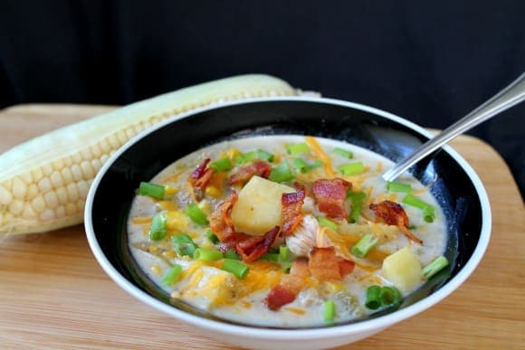 Chicken Corn Chowder | How to be Awesome on $20 a Day