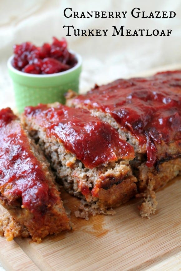 Cranberry Glazed Turkey Meatloaf | How to be Awesome on $20 a Day