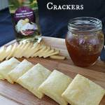 Blue Cheese Crackers | How to be Awesome on $20 a Day