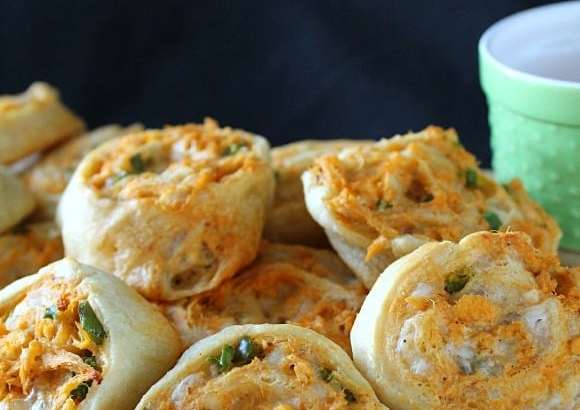 Buffalo Chicken Pinwheels | How to be Awesome on $20 a Day