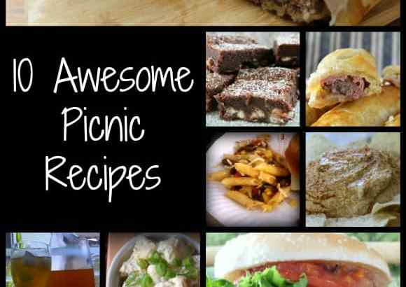 10 Awesome Picnic Recipes