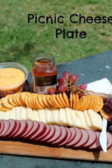 Picnic Cheese Plate | How to be Awesome on $20 a Day