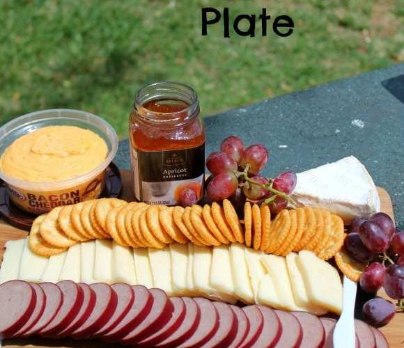 Picnic Cheese Plate   How to be Awesome on $20 a Day