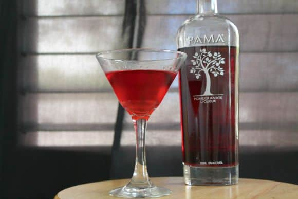 Pomegranate Martini | How to be Awesome on $20 a Day