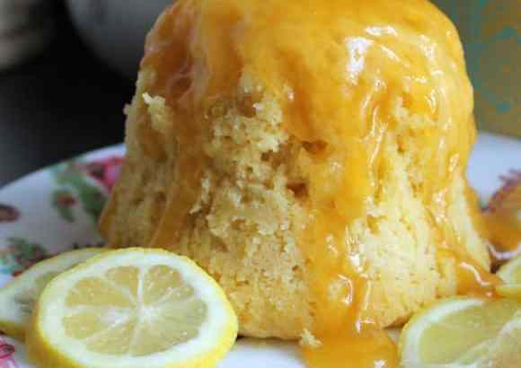 5 Minute Microwave Lemon Cake | How to be Awesome on $20 a Day