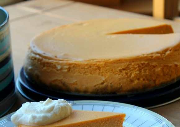 Pure Pumpkin Cheesecake