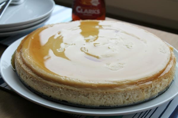 Maple Cheesecake | How to be Awesome on $20 a Day