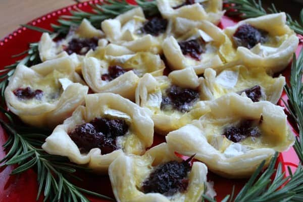 Cranberry Brie Bites   How to be Awesome on $20 a Day
