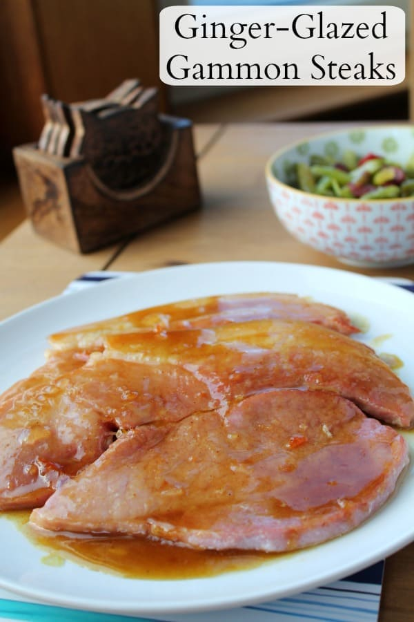 Ginger-Glazed Gammon Steaks   How to be Awesome on $20 a Day