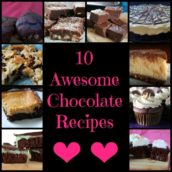 10 Awesome Chocolate Recipes