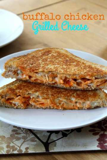 Buffalo Chicken Grilled Cheese   How to be Awesome on $20 a Day