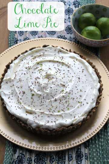 Chocolate Lime Pie   How to be Awesome on $20 a Day