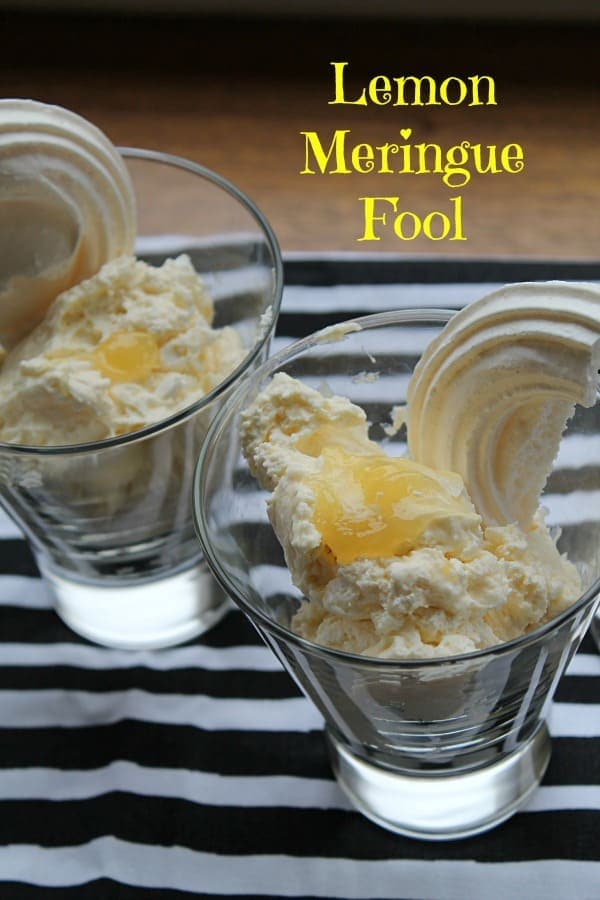 Lemon Meringue Fool | How to be Awesome on $20 a Day