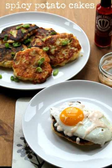 Spicy Potato Cakes   How to be Awesome on $20 a Day