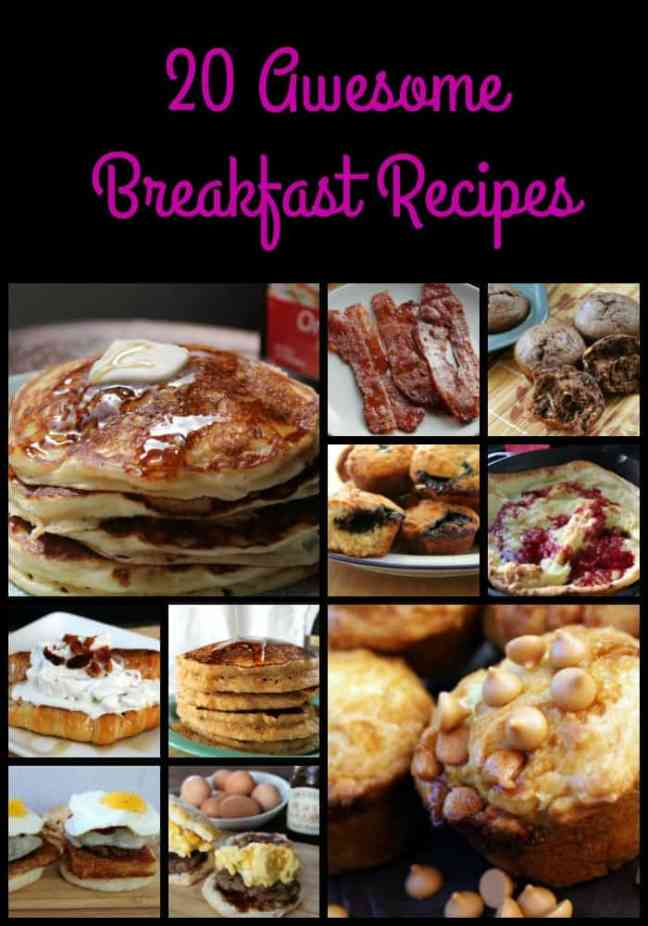 20 Awesome Breakfast Recipes