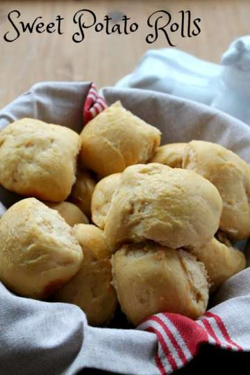 Sweet Potato Rolls | How to be Awesome on $20 a Day