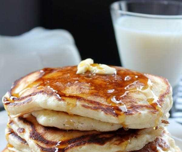 Buttermilk Pancakes | How to be Awesome on $20 a Day