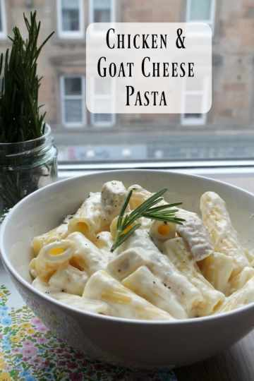 Chicken & Goat Cheese Pasta | How to be Awesome on $20 a Day