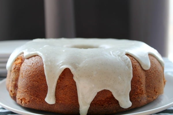 Vanilla Bean Bundt Cake | How to be Awesome on $20 a Day