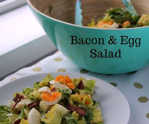Bacon and Egg Salad | How to be Awesome on $20 a Day