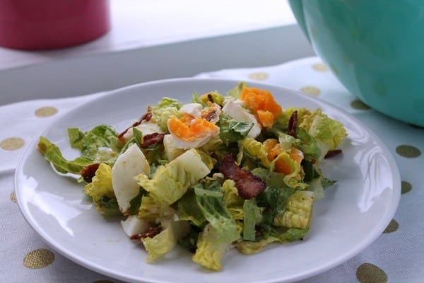 Bacon and Egg Salad   How to be Awesome on $20 a Day