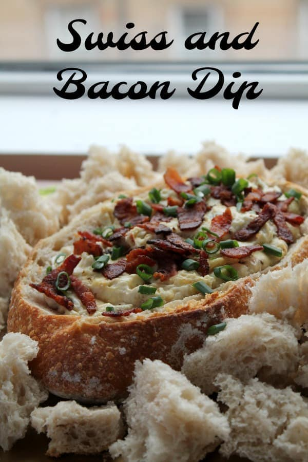 Swiss and Bacon Dip | How to be Awesome on $20 a Day
