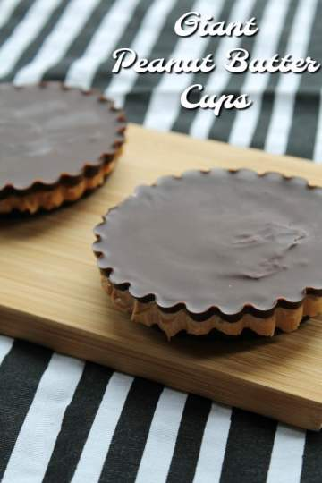 Giant Peanut Butter Cups | How to be Awesome on $20 a Day