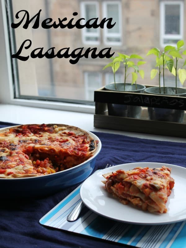 Mexican Lasagna   How to Be Awesome on $20 a Day
