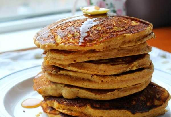 Pumpkin Pancakes   How To Be Awesome on $20 a Day